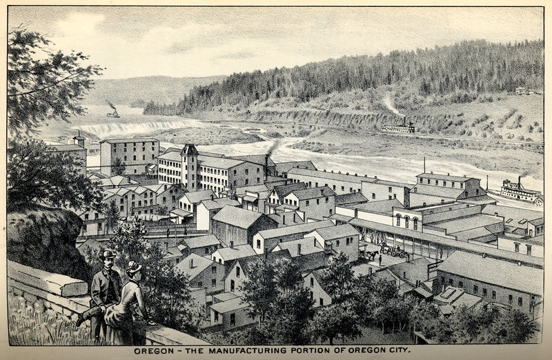 The Manufacturing Portion of Oregon City, Oregon