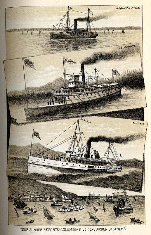 Columbia River Excursion Steamers