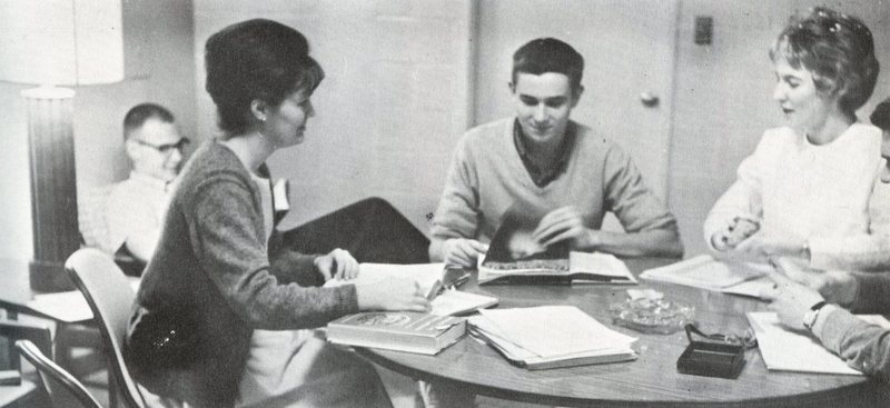 1963 Voyageur first Co-Ed Dorm.jpg