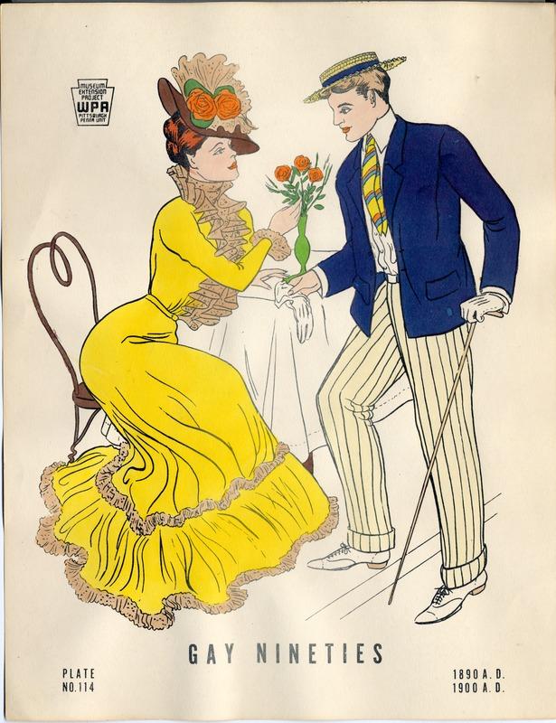 Gay Nineties 1890-1900 A.D.