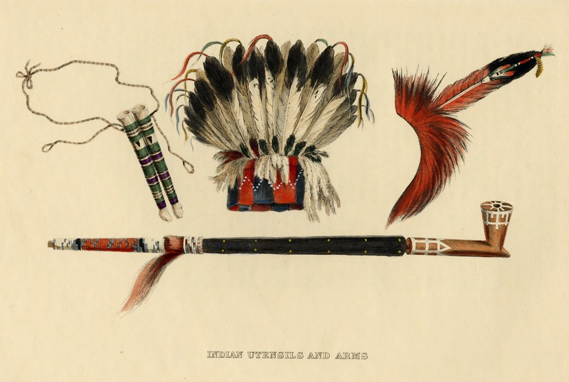 Indian Utensils and Arms