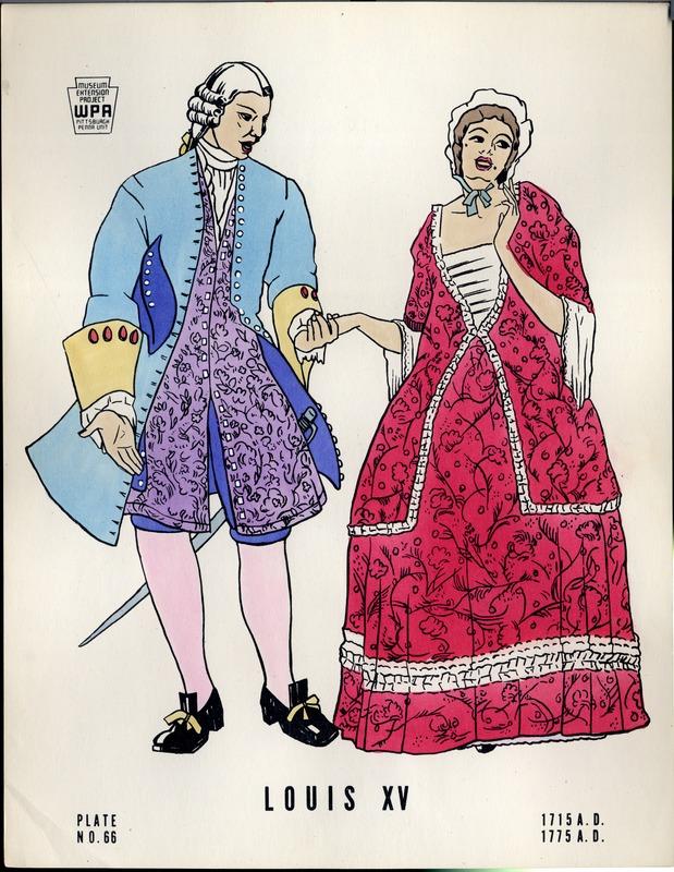 Louis XV 1715 A.D. -1775 A.D.