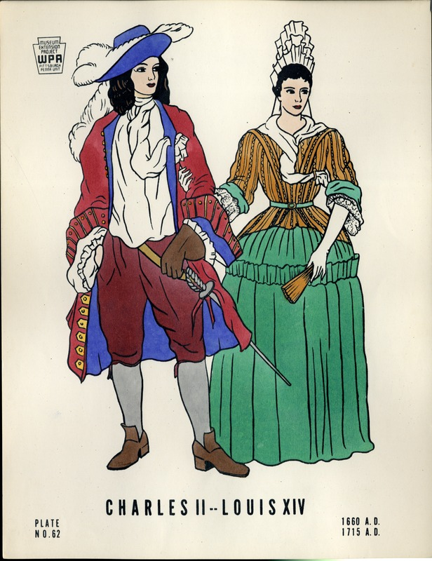 Charles II--Louis XIV 1660 A.D.- 1715 A.D.