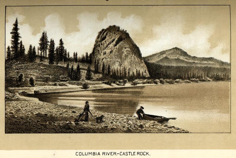Columbia River - Castle (Beacon) Rock