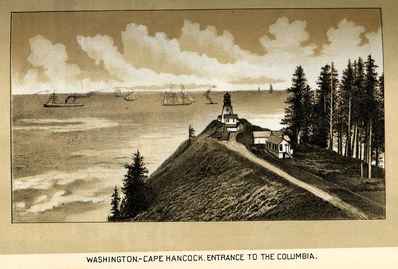 Cape Hancock, Entrance to the Columbia River