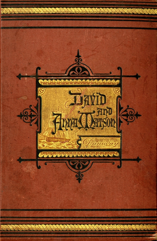 Cover of David and Anna Matson by Abigail Scott Duniway