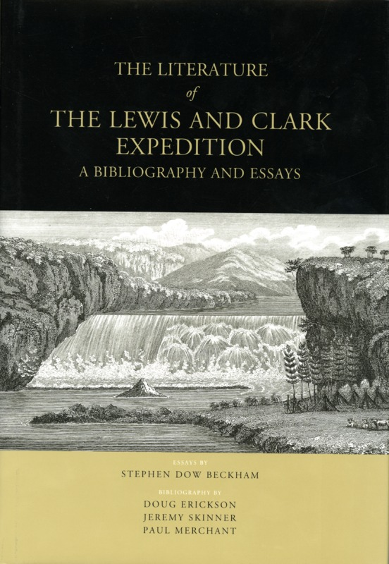 The literature of lewis and clark expedition a bibliography and essays.tif