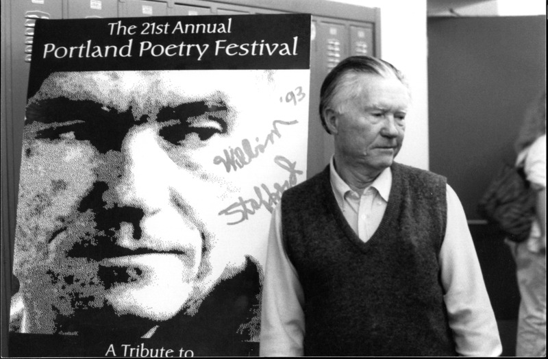 William Stafford at the Portland Poetry Festival