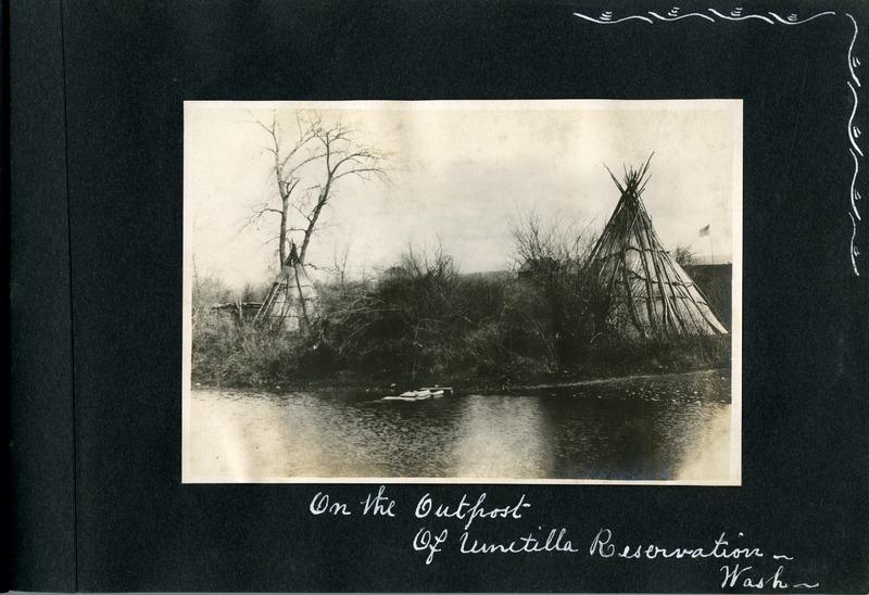 On the outpost of Umatilla Reservation, Washington