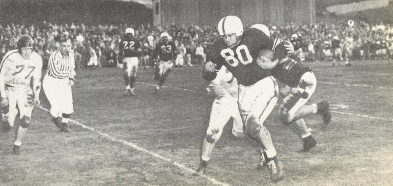 1950 Voyageur unknown LC Varsity football player - LC fotbal most successful year.jpg
