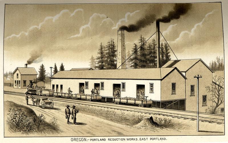 Reduction Works, East Portland, Oregon