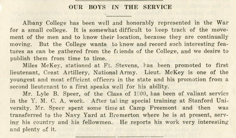 our boys in the service albany college bulletin december 1918.jpg