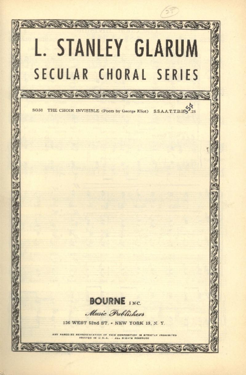 The Choir Invisible.pdf