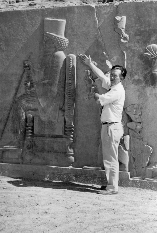 William Stafford at Persepolis, Iran