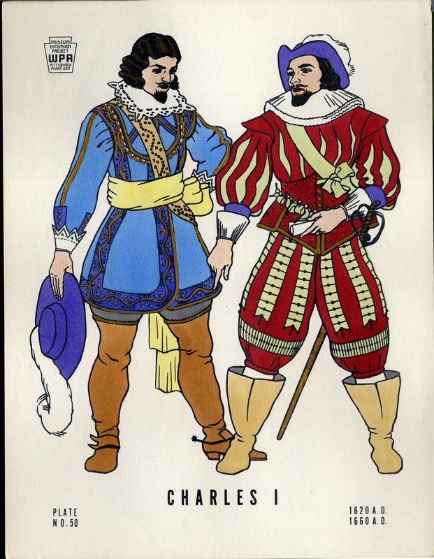 Charles I 1620 A.D.- 1660 A.D.