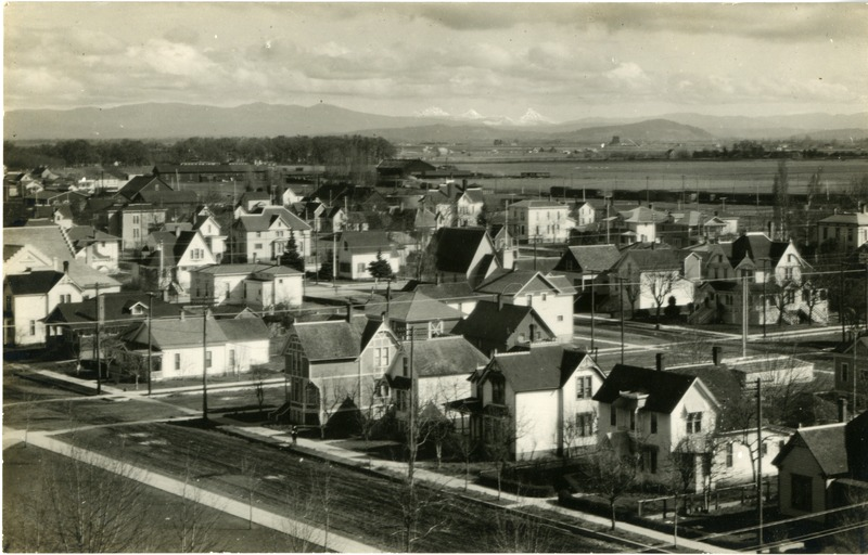 A view of Albany, Oregon.
