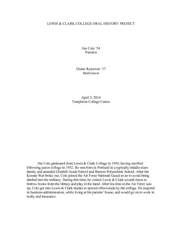 Deane Rynerson - Jim Cole, 4_3_14.pdf