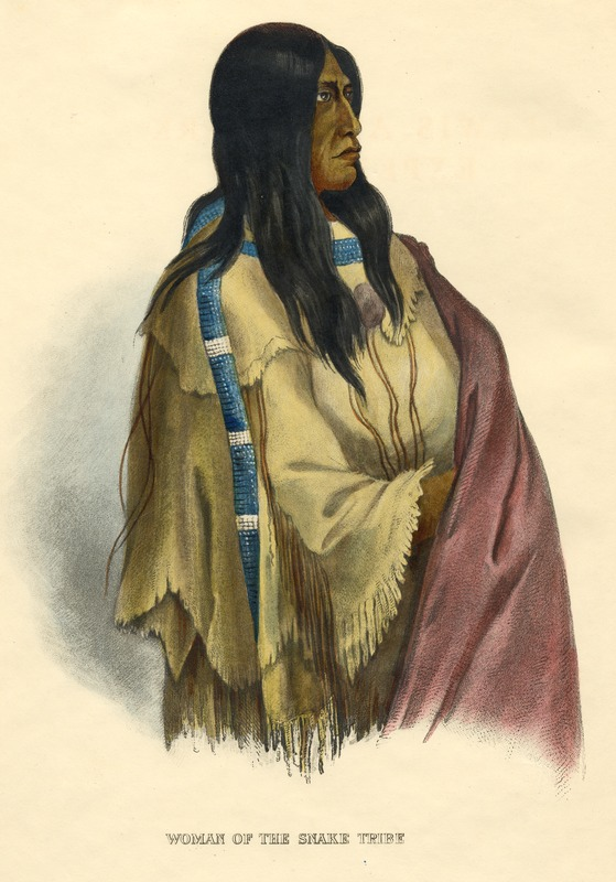 Woman of the Snake Tribe