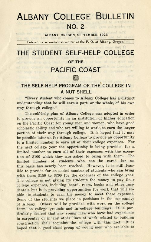 student self help college albany college bulletin no 2 september 1923.jpg