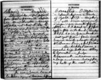 Susan B. Anthony Journal, October 1-30, 1871