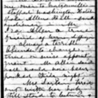 Susan B. Anthony Journal, August 3-31, 1871