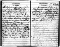 Susan B. Anthony Journal, September 1-30, 1871